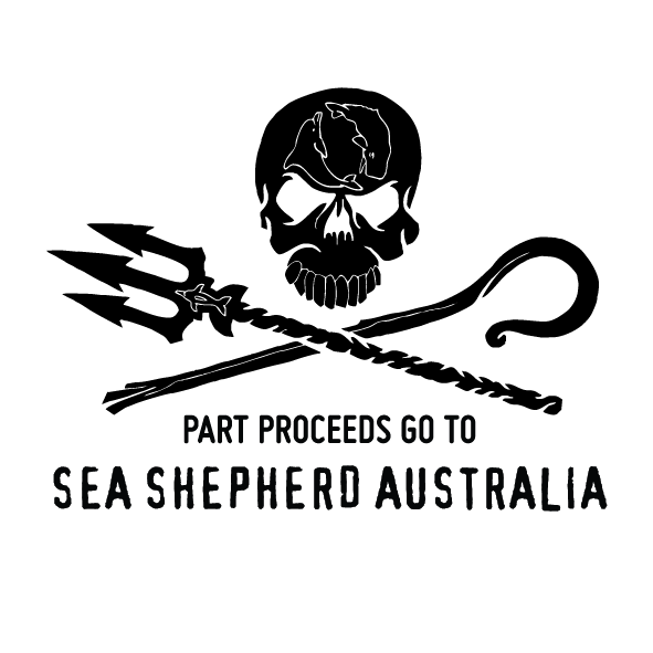 Sea Shepherd x WF - Whale Tail Pendant