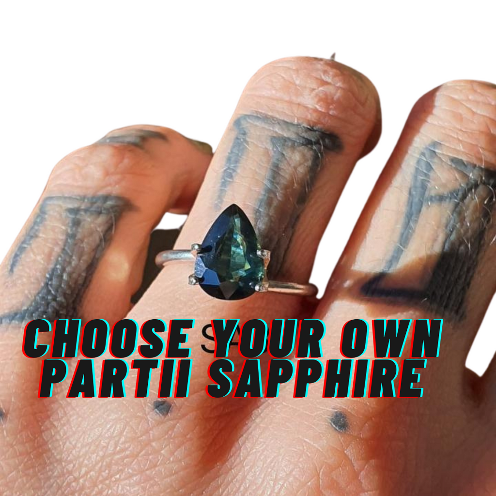 Design Your Own Partii Sapphire Ring