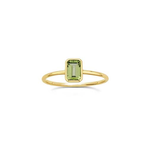 Octagon Stacker -  Peridot