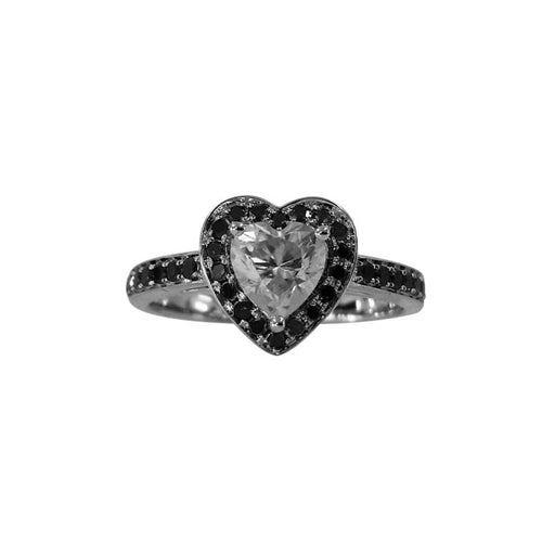 Heart Halo Ring