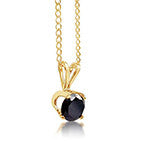 Black Diamond Pendant - Ready to Ship