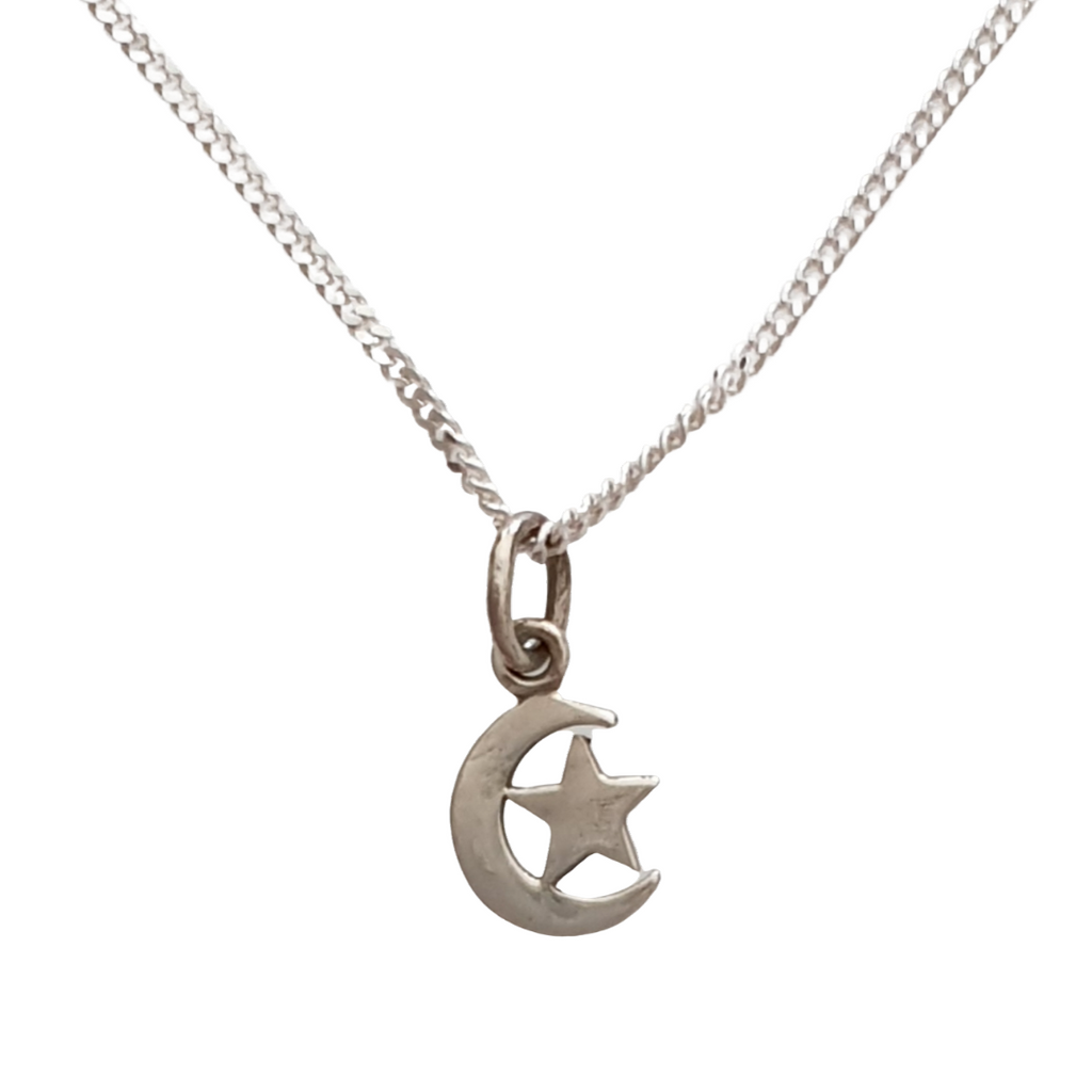 Star & Moon Pendant