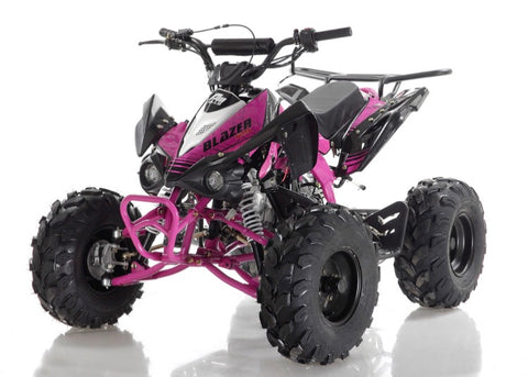 Apollo Blazer 9 125cc Youth ATV - Pink