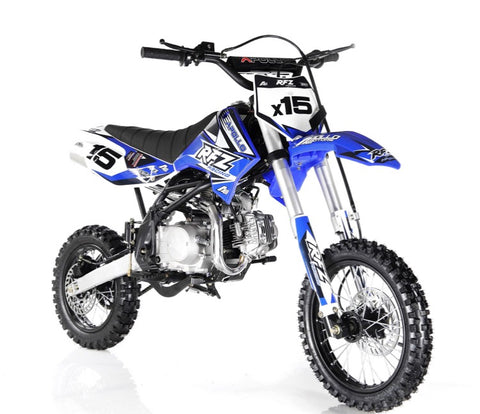 Apollo DB-X15 125cc Dirt bike - Blue