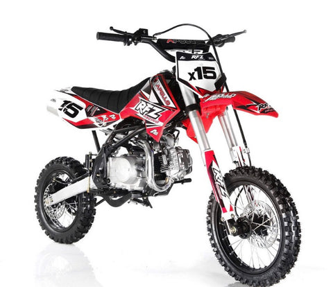 Apollo DB-X15 125cc Dirt bike - Red