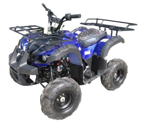 Vitacci Rider 7 125cc Youth ATV - Blue