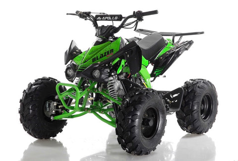 Apollo Blazer 9 125cc Youth ATV - Green