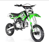 Apollo DB-X15 125cc Dirt bike - Green
