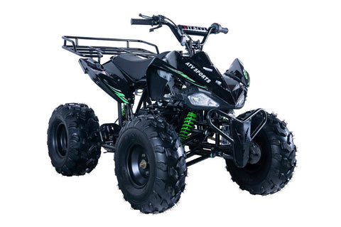Vitacci Jet 9 125cc Youth ATV - Black