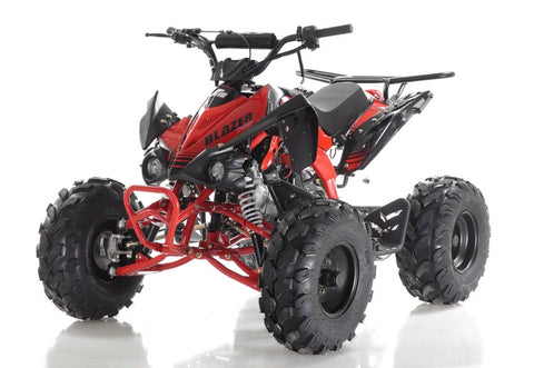 Apollo Blazer 9 125cc Youth ATV - Red