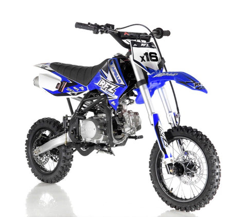 Apollo DB-X16 125cc Fully Automatic Dirt bike - Blue