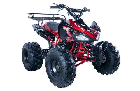Vitacci Jet 9 125cc Youth ATV - Burgundy
