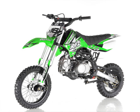 Apollo DB-X16 125cc Fully Automatic Dirt bike - Green