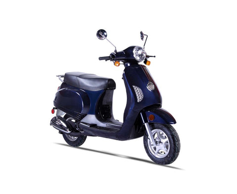 Wolf Lucky 50cc Scooter - Navy
