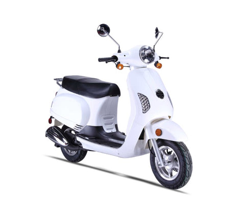 Wolf Lucky 50cc Scooter - White