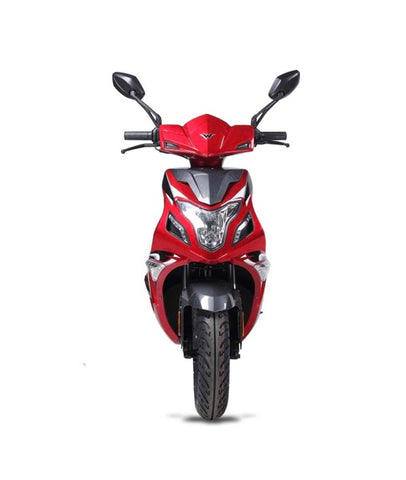 Wolf Blaze II 150cc Scooter - Red