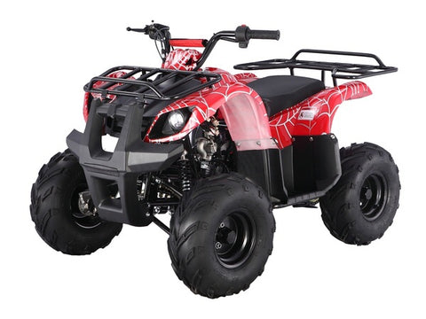 Tao Tao ATA125D Youth ATV - Red Spider