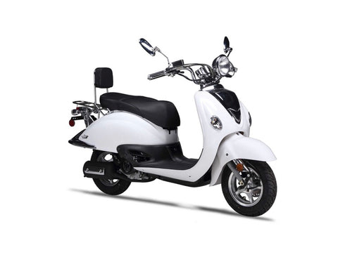Wolf Jet 50cc Scooter - White