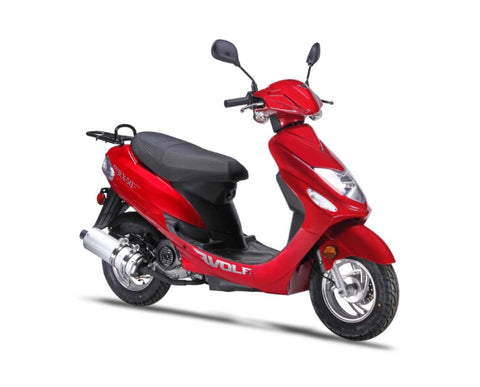 Wolf RX-50 Scooter - Red