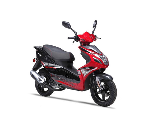 Wolf Blaze 50cc Scooter - Red