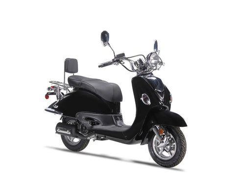 Wolf Jet 50cc Scooter - Black