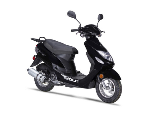 Wolf RX-50 Scooter - Black