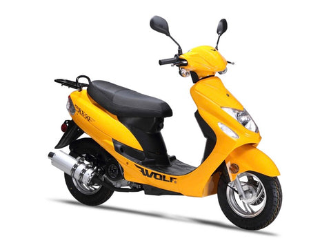 Wolf RX-50 Scooter - Yellow
