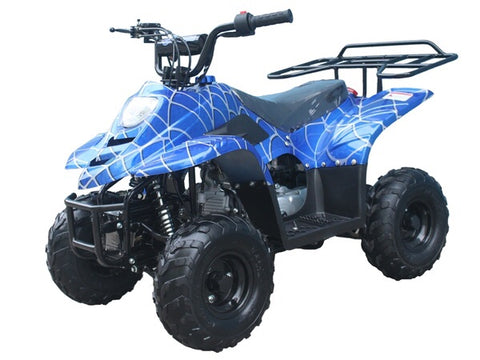 Tao Tao Boulder 110cc Youth ATV - Blue Spider