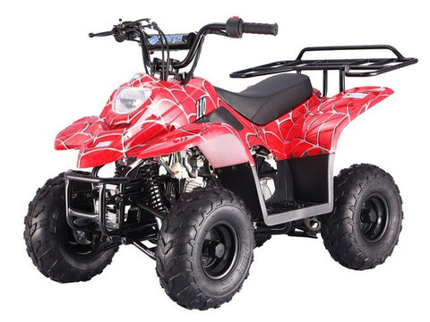 Tao Tao Boulder 110cc Youth ATV - Red Spider