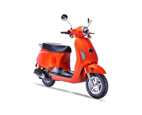 Wolf Lucky 50cc Scooter - Orange