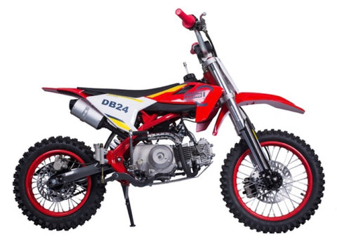 Tao Motors DB24 Dirtbike - Red