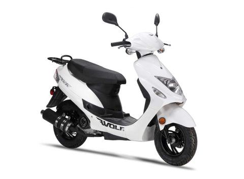 Wolf RX-50 Scooter - White