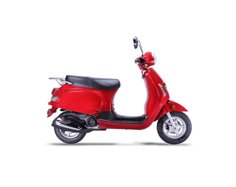 Wolf Lucky II 150cc Scooter - Red