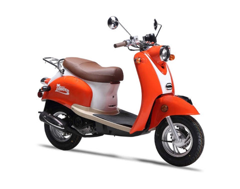 Wolf Islander 50cc Scooter - Orange