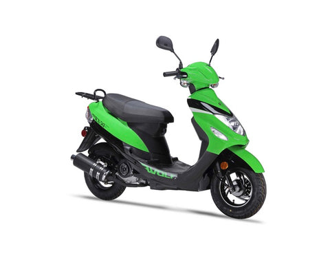 Wolf RX-50 Scooter - Green