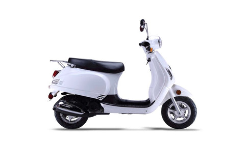 Wolf Lucky II 150cc Scooter - White
