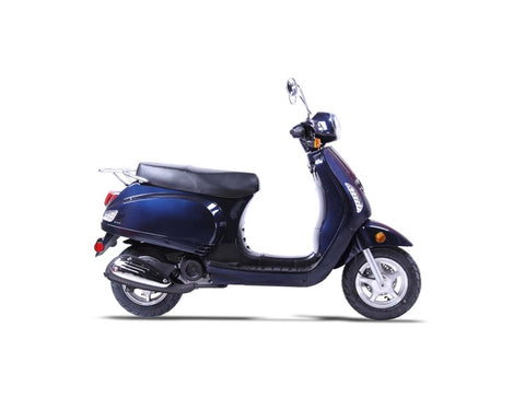 Wolf Lucky II 150cc Scooter - Navy