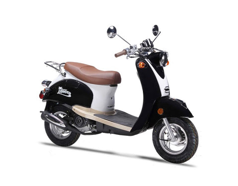 Wolf Islander 50cc Scooter - Black