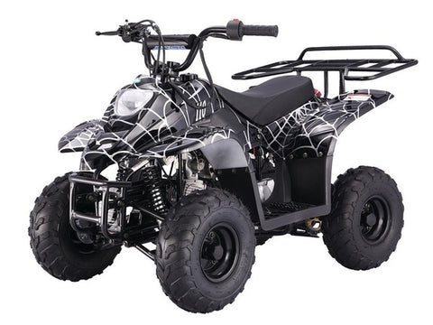 Tao Tao Boulder 110cc Youth ATV - Black Spider