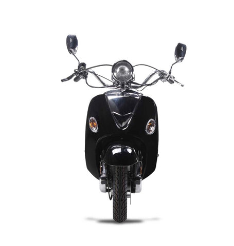 Wolf Jet II 150cc Scooter - Black