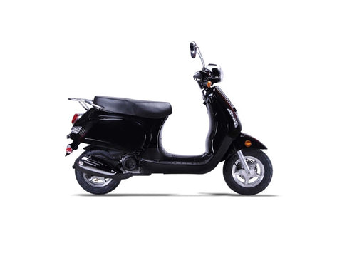 Wolf Lucky II 150cc Scooter - Black
