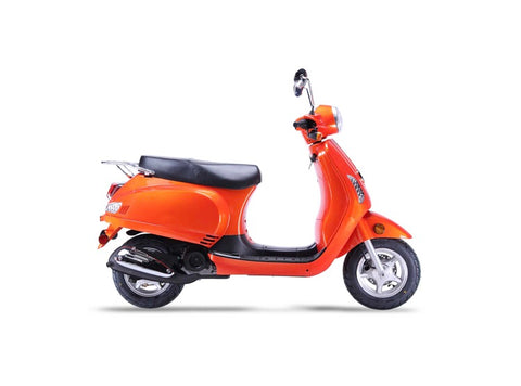 Wolf Lucky II 150cc Scooter - Orange