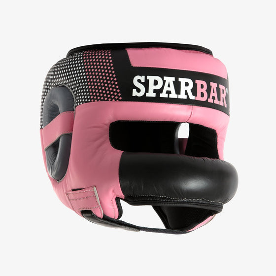 SPARBAR® SB1 BAR FACED SPARRING HEADGUARD - PINK