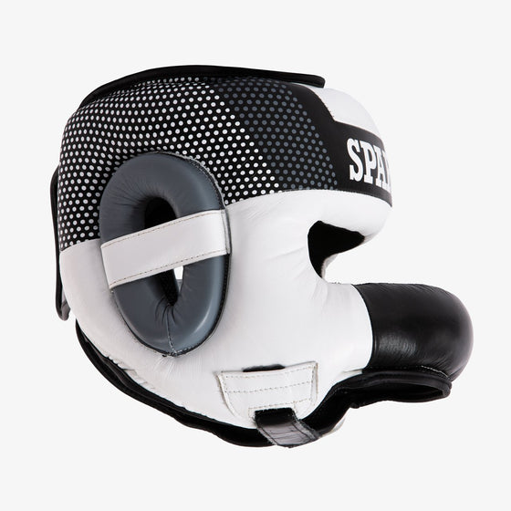 SPARBAR® SB1 BAR FACED SPARRING HEADGUARD - WHITE