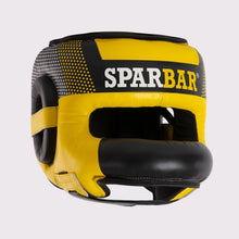 SPARBAR® SB1 BAR FACED SPARRING HEADGUARD - YELLOW