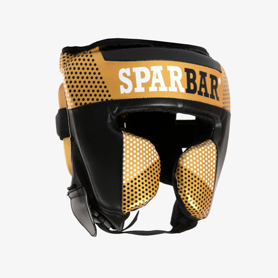 SPARBAR® SB1 FULL FACE HEADGUARD - GOLD & BLACK