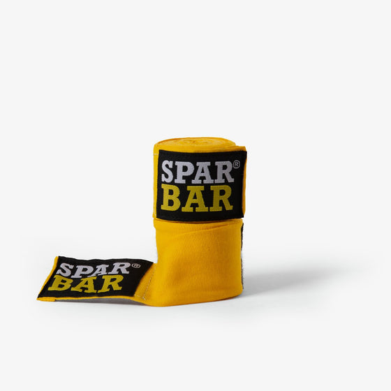 SPARBAR® COMPRESSION HAND WRAPS - YELLOW