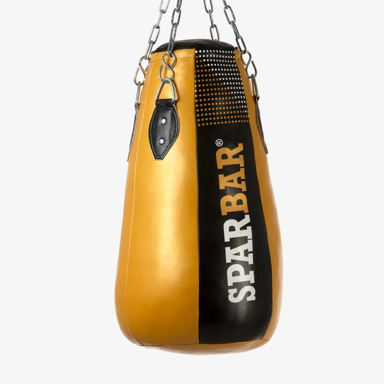 SPARBAR® SB1 HEAVY UPPERCUT BAG - BLACK & GOLD