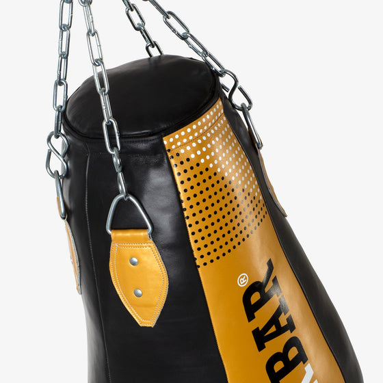 SPARBAR® SB1 HEAVY UPPERCUT BAG - GOLD & BLACK