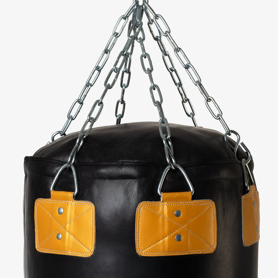 SPARBAR® SB1 HEAVY ANGLE PUNCH BAG - BLACK & GOLD